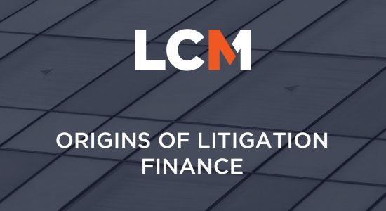 1. Origins of Litigation Finance