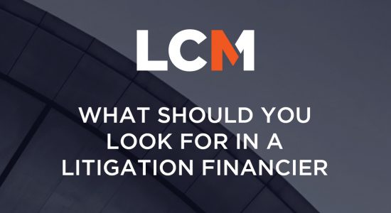 3. What Should You Look For In A Litigation Financier